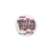 wildRoughneck Mini Button