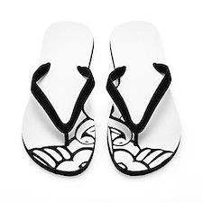 Caduceus Flip Flops