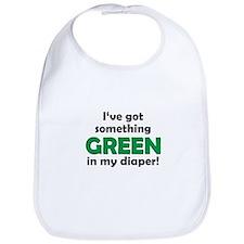 Green Diaper Bib