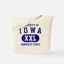 Iowa, Hawkeye State Tote Bag