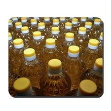 Sunflower oil production Mousepad