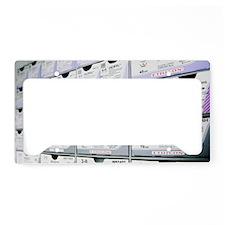 Suture rack License Plate Holder