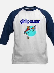 Girl Power Basketball Kids Athletic Jersey