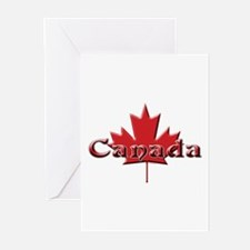 Canada: Maple Leaf Greeting Cards (Pk of 10)