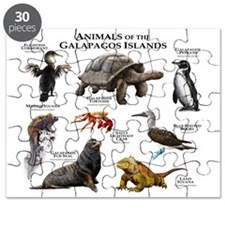 Animals of the Galapagos Islands Puzzle