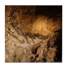 Stone-age cave paintings, Lascaux, Fr Tile Coaster