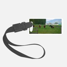 circle f herd-largest Luggage Tag