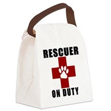 Rescuer, ON DUTY Canvas Lunch Bag