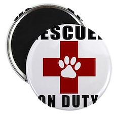 Rescuer, ON DUTY Magnet