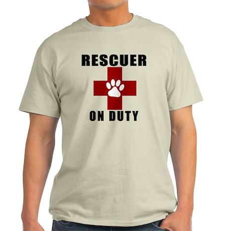 Rescuer, ON DUTY Light T-Shirt