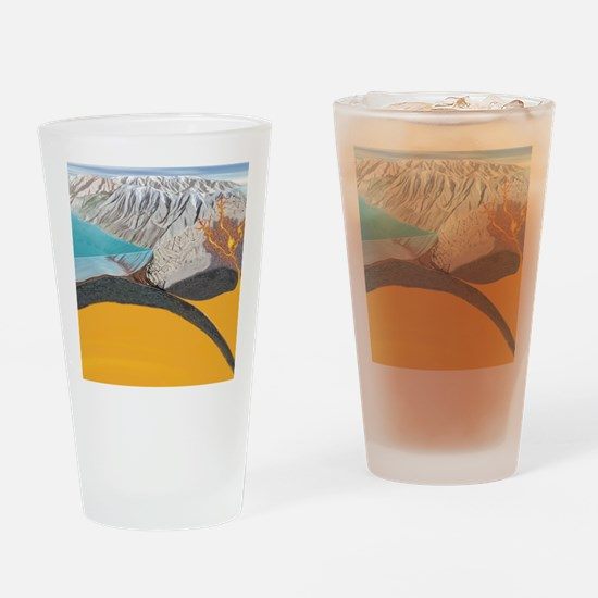 Subduction zone processes Drinking Glass