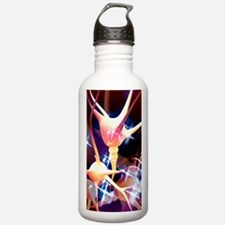 Nerve cells, artwork Water Bottle