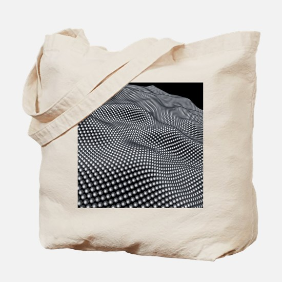 Nanospheres, computer artwork Tote Bag