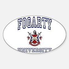 FOGARTY University Oval Decal