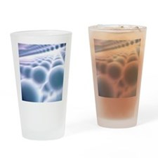 Nanoparticle lattice, artwork Drinking Glass