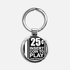 CoinSlot Round Keychain