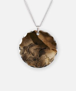 Stone-age cave paintings, Ch Necklace