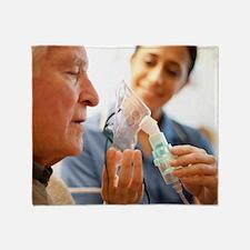 Nebuliser use Throw Blanket