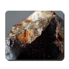 Stone meteorite fragment Mousepad