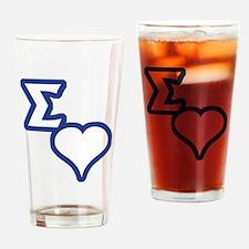 Sigma Sweet Drinking Glass