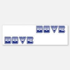 Dove Boxes Bumper Bumper Sticker