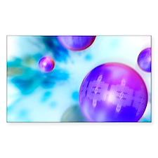 Nanoparticles, artwork Decal