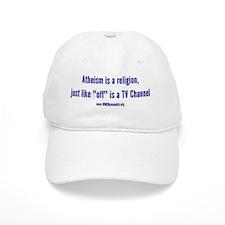 Atheism not a religion Baseball Cap