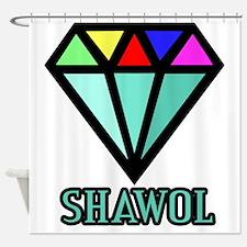 Shawol Diamond Shower Curtain