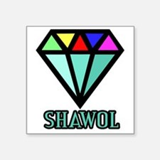 "Shawol Diamond Square Sticker 3"" x 3"""