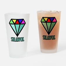 Shawol Diamond Drinking Glass