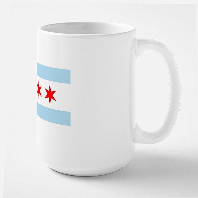 Chicago Flag Large Mug