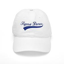 Sigma Doves Script Tail Baseball Cap