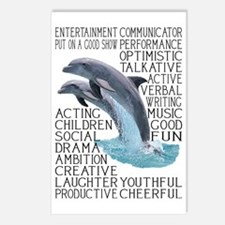 dictdolphin Postcards (Package of 8)