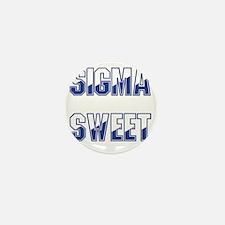 Two-tone Sigma Sweet Mini Button
