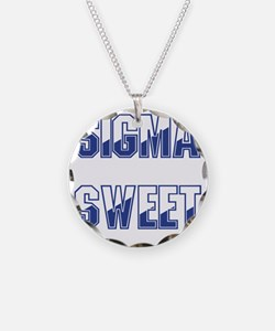 Two-tone Sigma Sweet Necklace