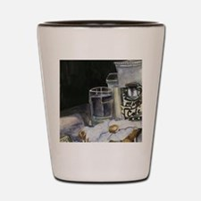 Table of New Orleans Beignets Shot Glass