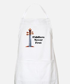 Fiddlers Never Fret BBQ Apron