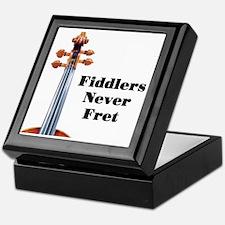 Fiddlers Never Fret Keepsake Box