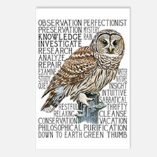 dictowl Postcards (Package of 8)