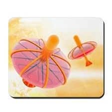 Nanoparticle drug delivery, artwork Mousepad