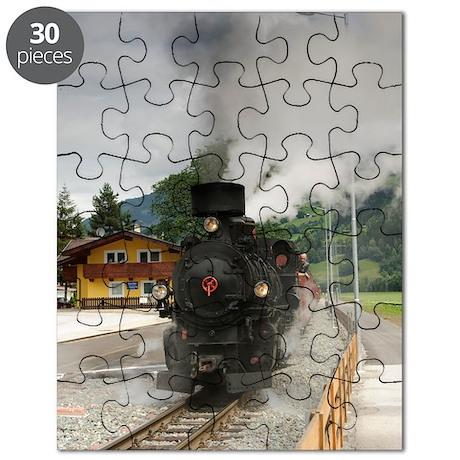 Zillertalbahn steam train Puzzle