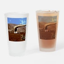 Young Diplodocus dinosaur Drinking Glass