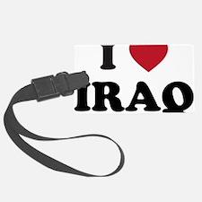 I Love Iraq Luggage Tag