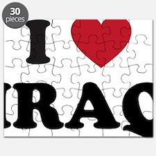 I Love Iraq Puzzle
