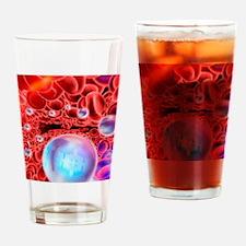 Nanomedicine, conceptual artwork Drinking Glass