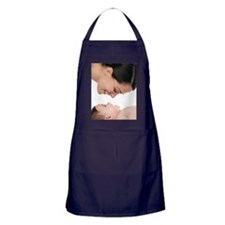 Mother and baby Apron (dark)