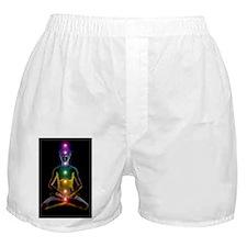 Yoga and the chakras Boxer Shorts
