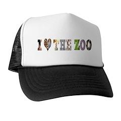 i love the zoo Trucker Hat