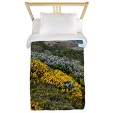 Spring wildflowers, Portugal Twin Duvet