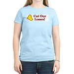 Cut Our Losses! Women's Light T-Shirt